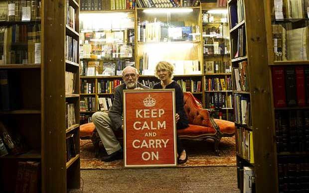 Stuart dan Mary Mantley, Pemilik kedai Barter Books,