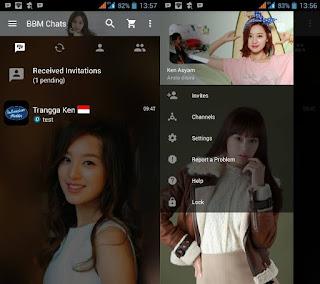 BBM Mod Kim Ji Won