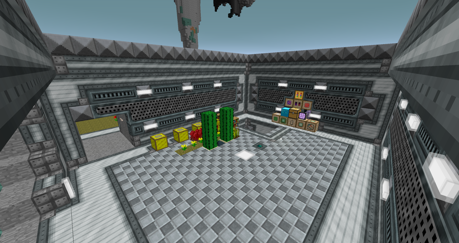 MonsterCWP's Blog: Mountain Laboratory in Minecraft