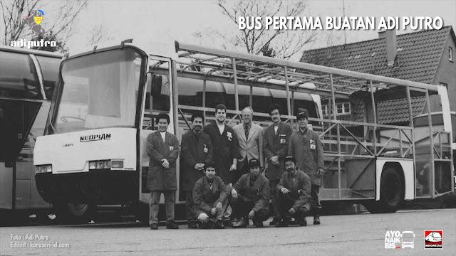 Bus pertama Adi Putro Neoplan