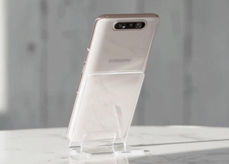 Galaxy A80 Back