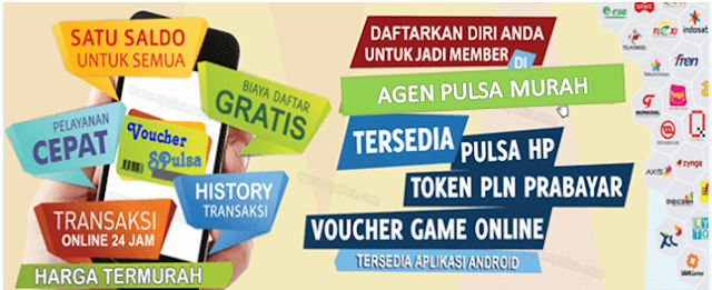 Grosir Pulsa Murah All Operator