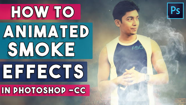 1 Click Animated Smoke Effects Photoshop Actions