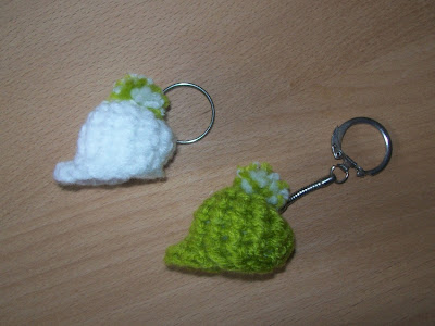 Crochet keychain - Portachiavi all'uncinetto