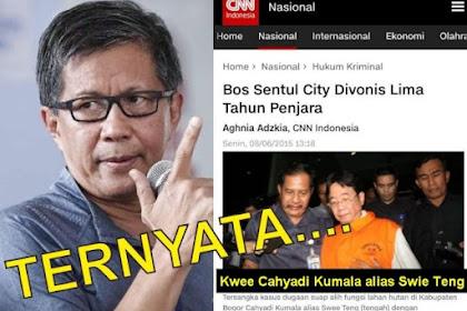 HEBOH! TERNYATA... Bos Sentul City Eks Terpidana Kasus Suap Tukar Guling Kawasan Hutan di Bogor