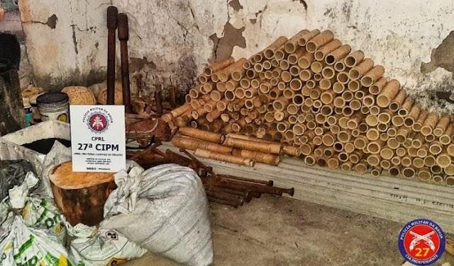 Cruz das Almas: 27ª CIPM  deflagra operação contra fabrico ilegal de espadas