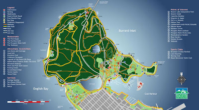 Stanley Park Map Attractions