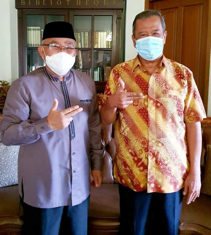 Mantan Walikota Badrul Kamal Dukung Mohammad Idris Lanjutkan Dua Periode