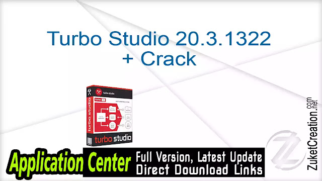 Turbo Studio 20.3.1322 + Crack