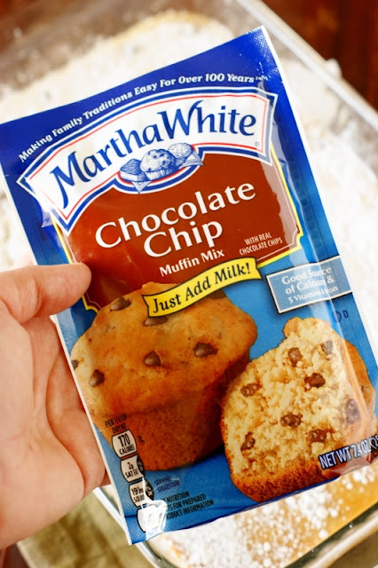 Martha White Chocolate Chip Muffin Mix Package Image