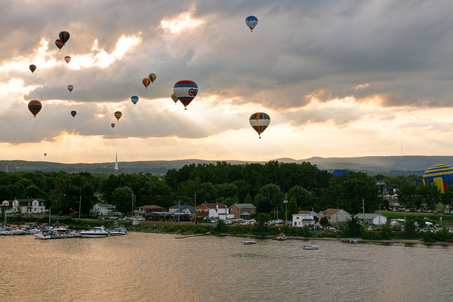 Hot Air Balloon Festival in Gatineau -