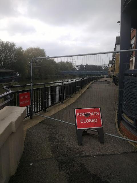 Psychogeography, Peterborough, Closed Path, Commuting