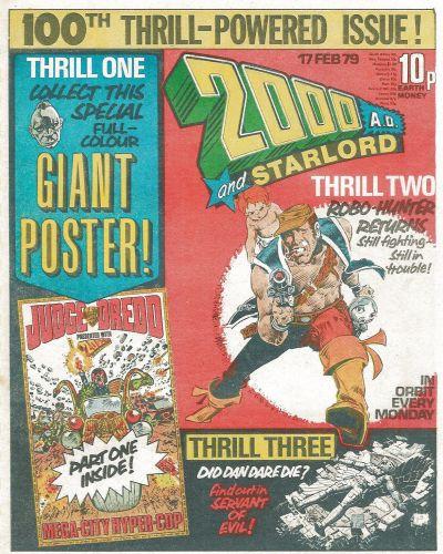 2000 AD, Prog 100