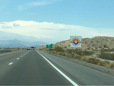 Roadtrip USA on the road again - Arizona