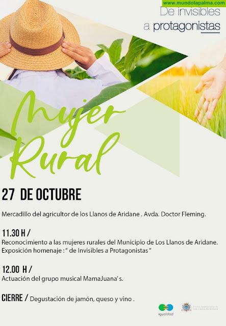 Los Llanos de Aridane rinde homenaje a las mujeres rurales del municipio