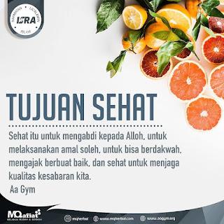 Tujuan Sehat - Qoutes - Kajian Islam Tarakan