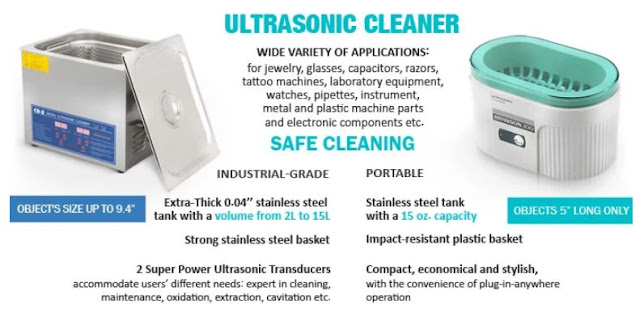 best practices using ultrasonic cleaner