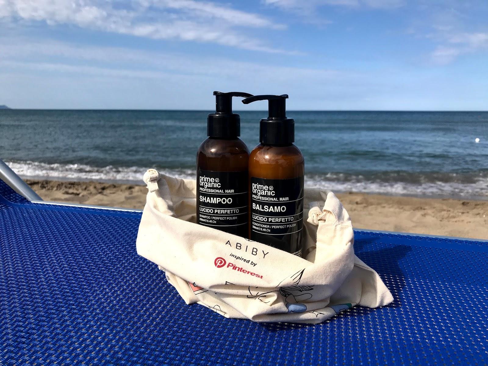 """Shampoo & Balsamo """"Lucido perfetto"""" di Prime Organic"""