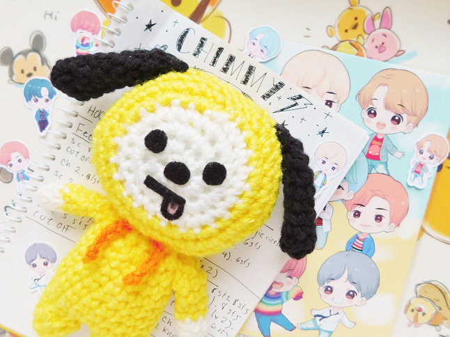 BT21 Chimmy Plush Crochet Pattern