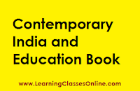 Contemporary India and Education study material, Contemporary India and Education in engilsh, Contemporary India and Education ebook, Contemporary India and Education b.ed,