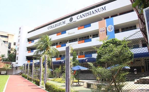 Gedung sekolah SMA Kanisius di Menteng, Jakarta Pusat