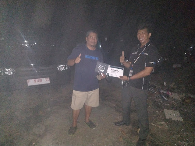 Penyerahan 4 unit new carry WD Cianjur