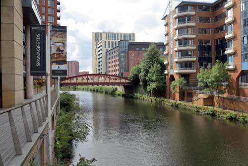 Spinningfields, Manchester, UK.