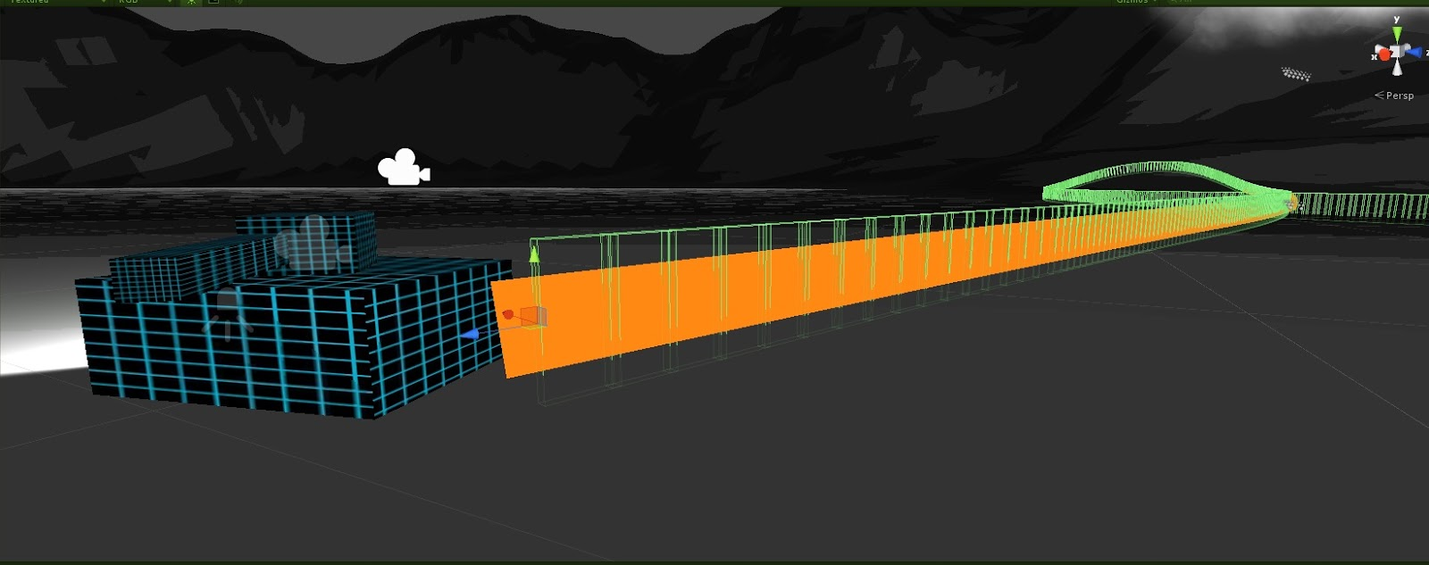 Mark's Game Development Blog: Unity - Trail Renderer (with colliders)