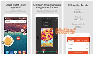 Perekam Layar Mobizen - Record, Capture, Edit