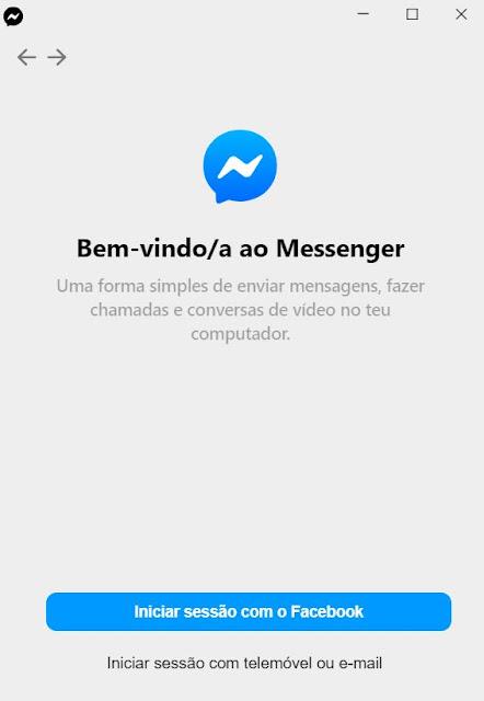 Facebook Messenger nos sistemas operativos macOS e Windows!!!