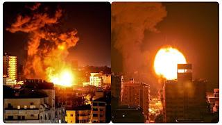 عاجل : أكثر من 60 غارة إسرائيلية على غزة خلال نصف ساعة (فيديو)