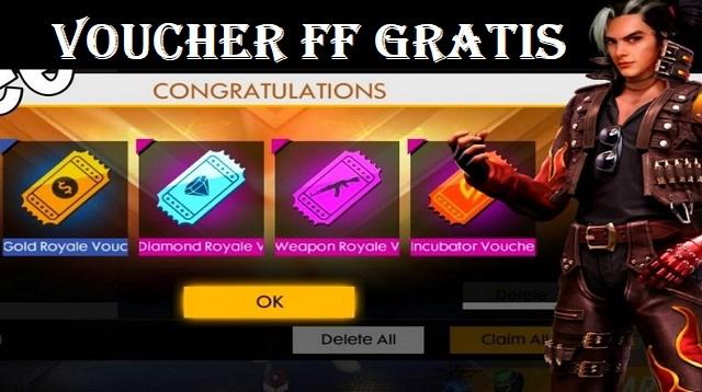 Voucher FF Gratis