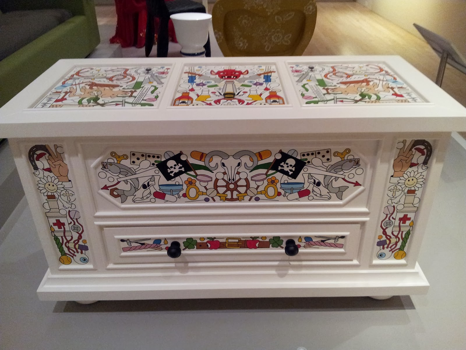 Also From The Design Exhibit At The Ima Heres A Great Dresser For The Kids Room