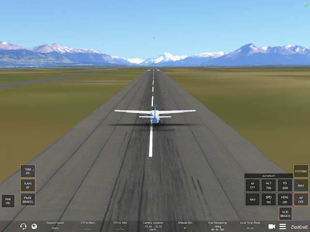 Infinite Flight Punta Arenas Chili