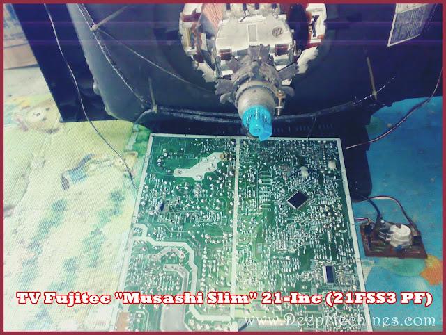 Perbaikan Layar Gelap namun Suara Ada - TV Fujitec Slim 21-Inc, 21FSS3 PF