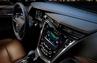 Cadillac ELR dash close-up