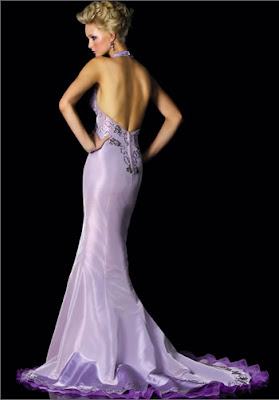 Nothing But Beauty Colorful Wedding Dresses Purple