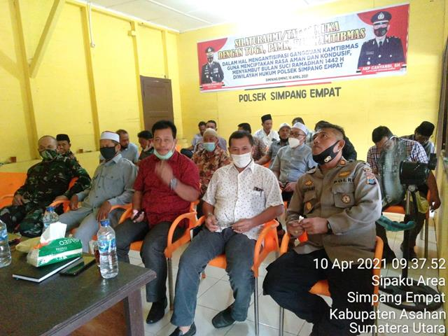 Personel Jajaran Kodim 0208/Asahan Ikuti Zoom Meeting Dalam Membahas Keamanan di Bulan Suci Ramadhan