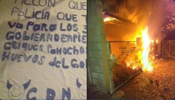 La invasión de  Sicarios del Cartel Del Noreste a Coahuila quemaron un rancho e hirieron a un masculino ,reportaron balaceras en  PiedrasNegras y dejaron narcomantas amenazando a los 3 Gobiernos