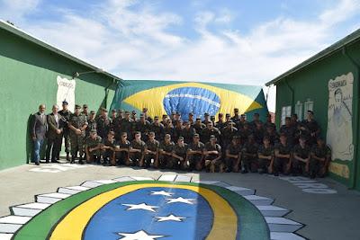 Tiro de Guerra de Olímpia realiza solenidade em homenagem ao Dia do Exército