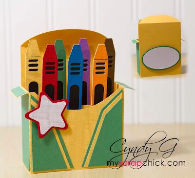 3d svg crayon box card