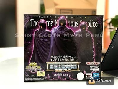 Coat surplice Mystery Set EX primeras imágenes reales del producto