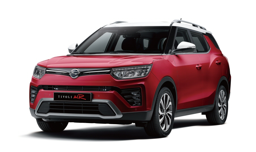 쌍용차, 소형 SUV '2021 티볼리 에어' 사전계약 시작