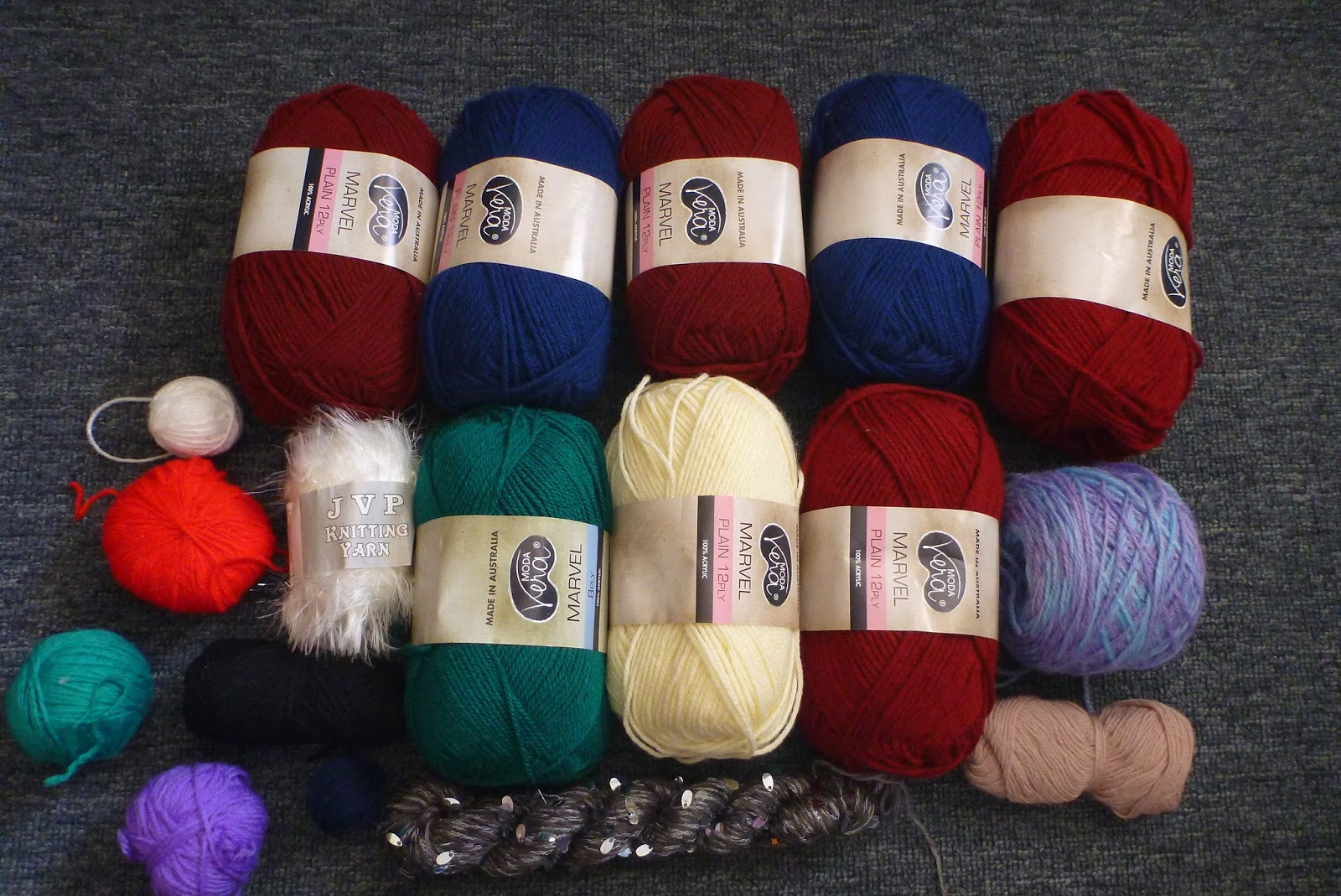 Knitting Materials : Roseys planet my craft collection knitting supplies