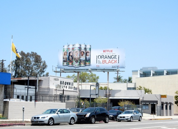 Orange is the New Black 3 billboard
