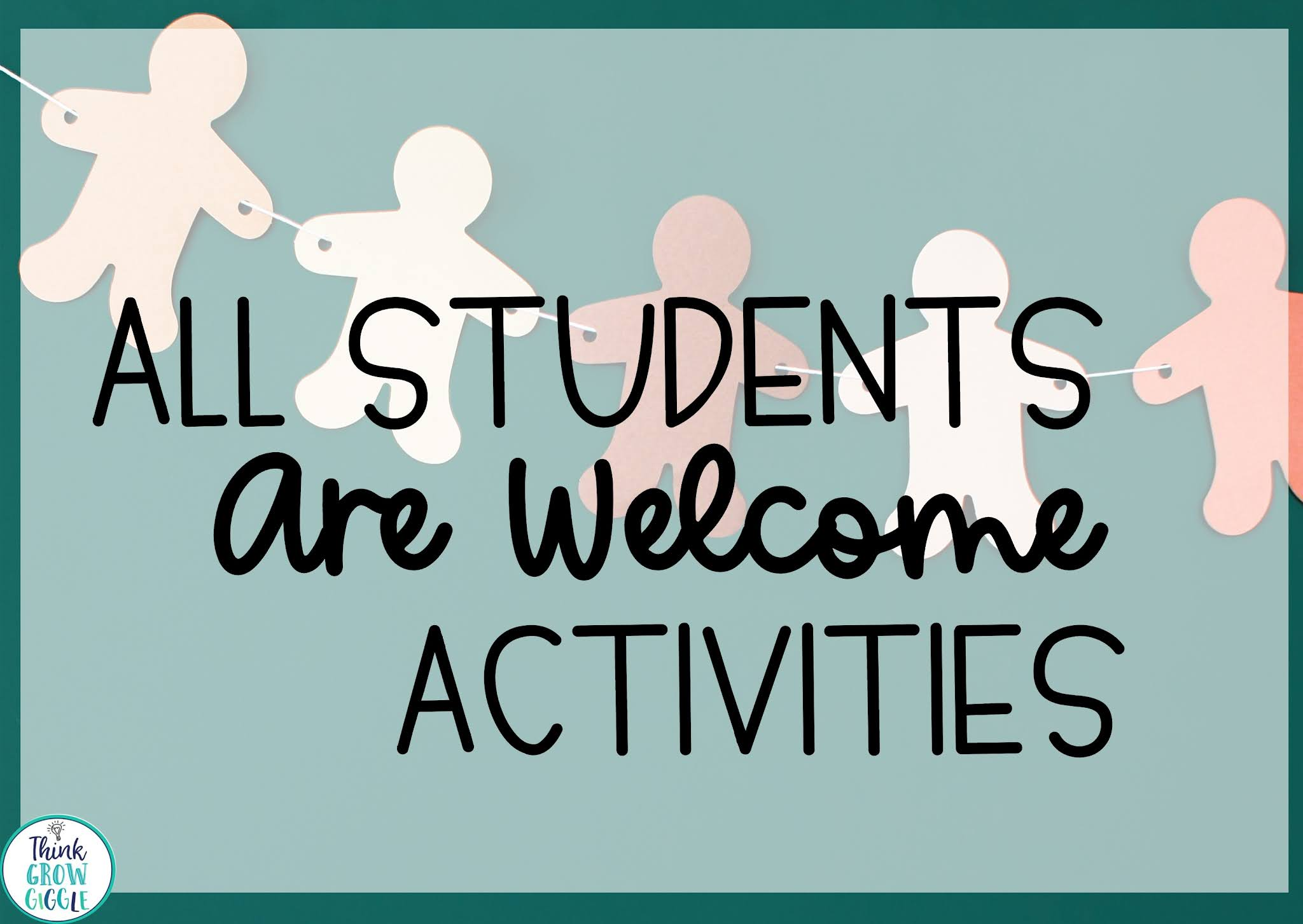 Back to School Message:  All Students Are Welcome