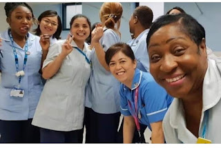 Nigerian nurse dies at hospital where she works in the UK from Coronavirus while her sister is on ventilator.