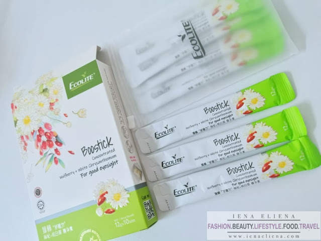 Ecolite Boostick Concentrated Wolfberry + White Chrysanthemum