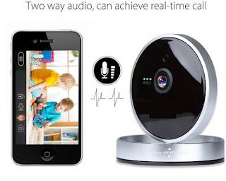 كاميرا مراقبة صغيرة HD لاسلكية