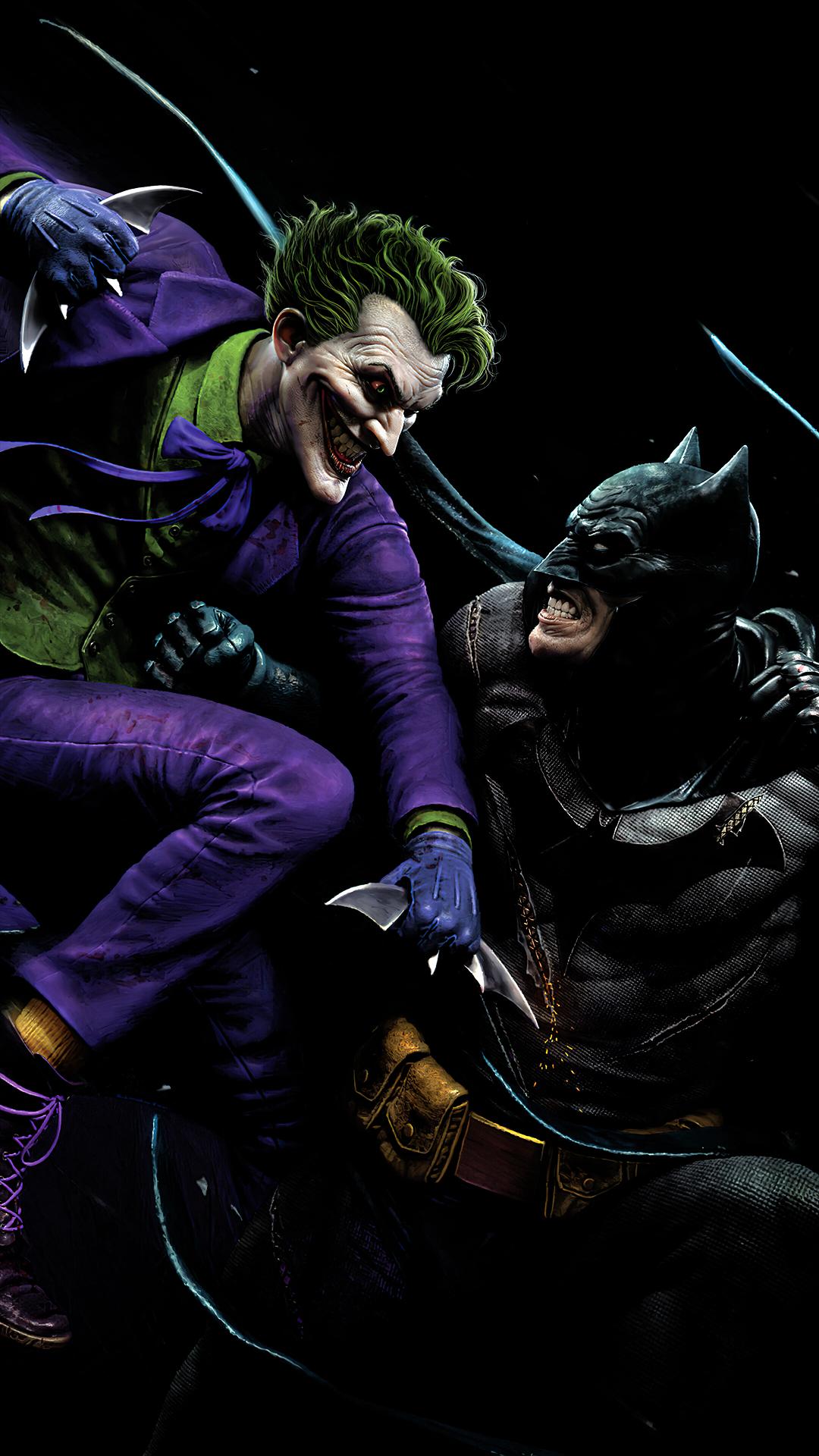 Joker vs. Batman wallpaper phone